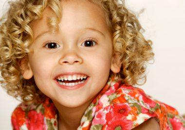Sasha smiling