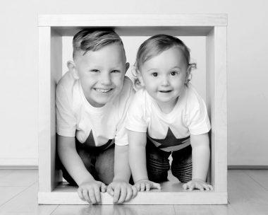 Siblings in a box